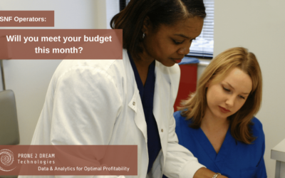 SNF Operators – Will You Meet Your Budget This Month?