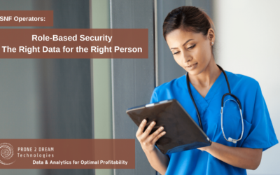 Role Based Access Control for Skilled Nursing Business Intelligence